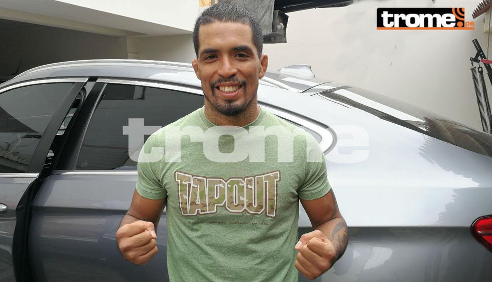 Rudy Gavidia acumula una racha de victorias consecutivas en el MMA. (GEC)