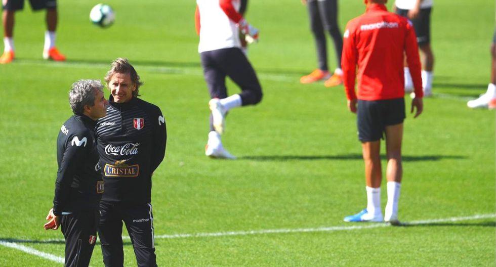 Selección peruana entrenó en sao Paulo sin Carlos Zambrano