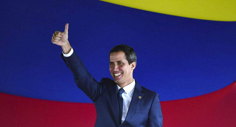Juan Guaidó fue reelegido como presidente del Parlamento de Venezuela. (Foto: AFP)