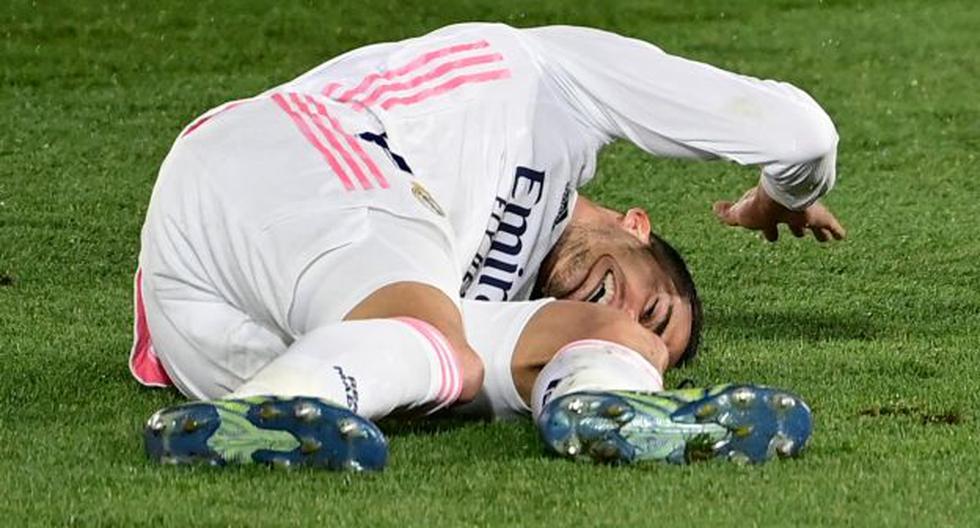 Real Madrid sufre sensible baja para lo que queda de la temporada