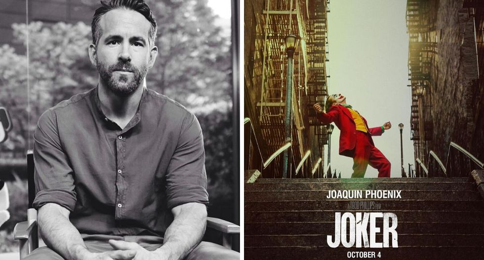 """El protagonista de """"Deadpool"""" felicitó el éxito. (Foto: @jokermovie / AFP)"""