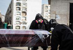 En mayo                             del 2020 murieron 23.351 personas, 14 mil                             más que en el mismo mes del año pasado