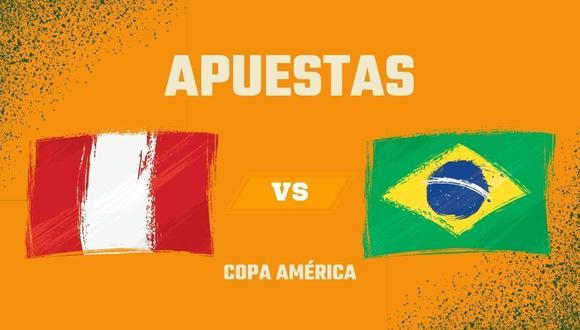Perú vs. Brasil apuestas semifinal Copa América 2021
