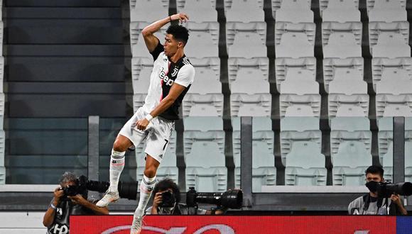 Doblete de Cristiano Ronaldo en Juventus vs Lazio por Serie A