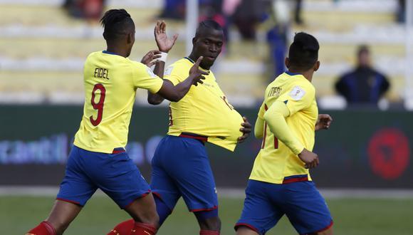 Ecuador empató 2-2 con Bolivia por las Eliminatorias Rusia 2018.