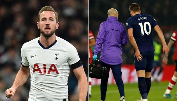 Tottenham: Harry Kane sufrió grave lesión, será operado y es baja por tiempo prolongado