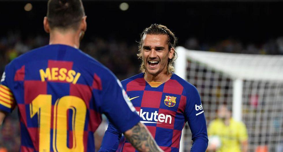 Lionel Messi habló sobre la supuesta mala relación con Antoine Griezmann tras triunfo de Barcelona por Champions League