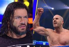 Cesaro acaba con Los Usos y quedó listo para enfrentar a Roman Reigns en WrestleMania Backash