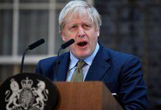 El primer ministro británico Boris Johnson sale de cuidados intensivos