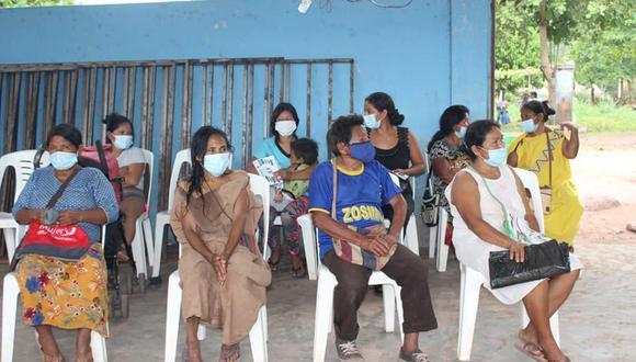 La brecha de vacunación de población adulta en la región Junín sigue siendo considerable. (Foto: Diresa Junín)