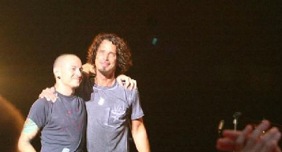 Chester Bennington y Chris Cornell.