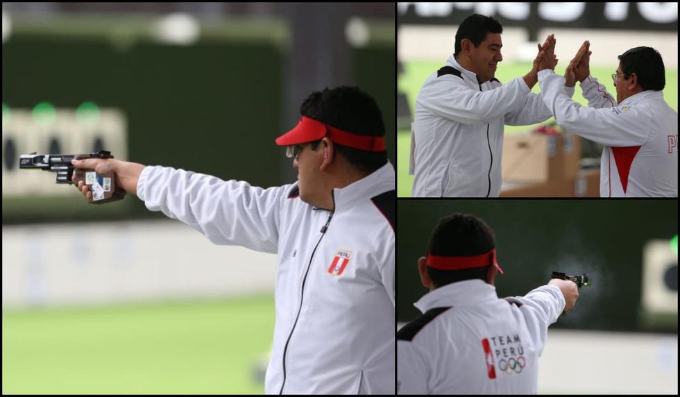 Marko Carrillo ganó medalla de bronce en tiro rápido con pistola en los Juegos Panamericanos Lima 2019