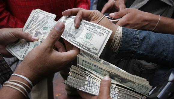 El dólar cotiza un alza de 4,55% frente al día anterior. (Foto: GEC)