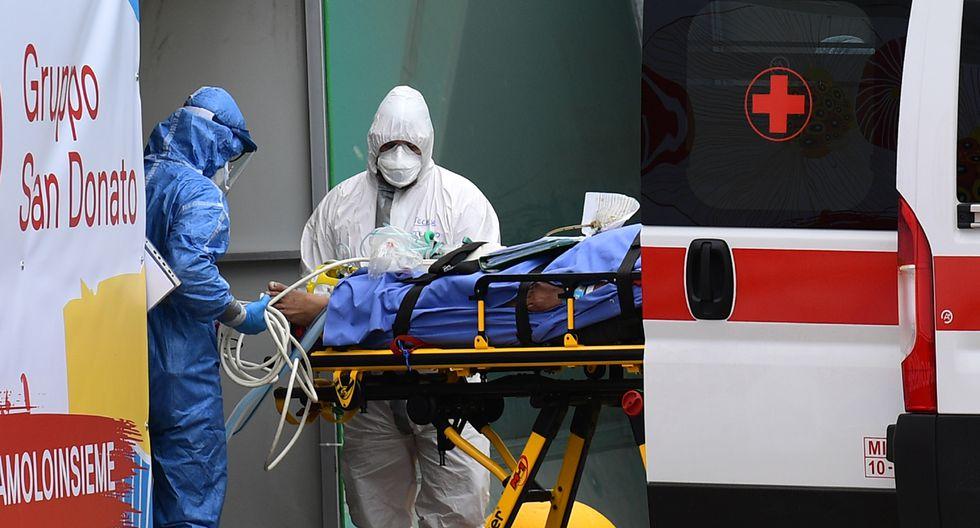 Una ambulancia fue atacada a pedradas, en una localidad de España. (Foto: AFP/Referencial)