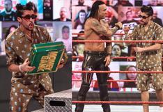 Bad Bunny volvió a hacer de las suyas en WWE Monday Night RAW | VIDEO