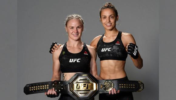 Las hermanas Valentina y Antonina Shevchenko fueron las primeras hermanas en pelear en una misma cartelera de UFC. (UFC)