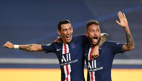 PSG y Leipzig definieron al primer clasificado para la final de la Champions League | Foto: AP/EFE/AFP