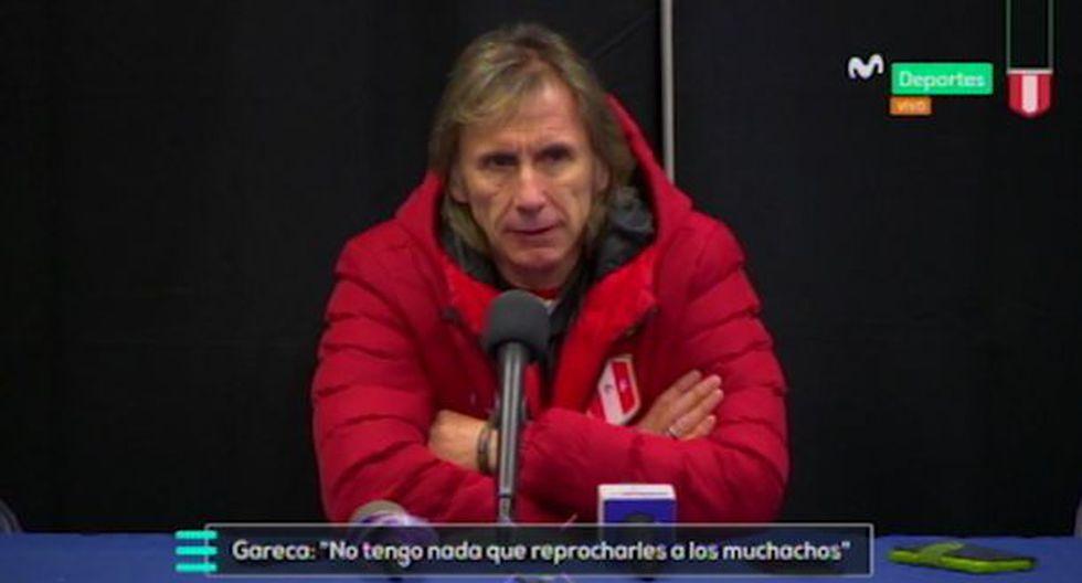Conferencia de Ricardo Gareca