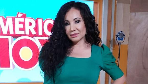 Janet Barboza dice que programa 'América hoy' se viene consolidando
