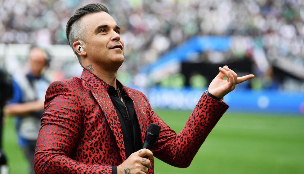 Robbie Williams. (Foto: EFE)