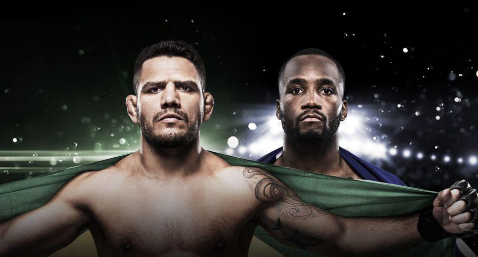 El excampeón Rafael dos Anjos la tendrá díficil ante León  Edwards. (UFC)