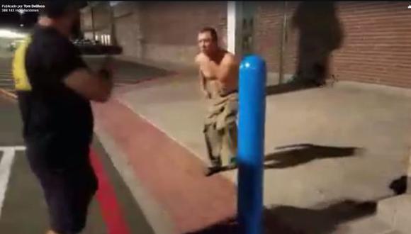 Así reaccionó exluchador de UFC ante provocación en la calle. (Facebook)