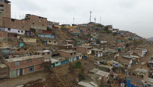 Familias de Villa María del Triunfo se vieron perjudicadas tras movimiento telúrico de grado 6. (Foto: MVCS)