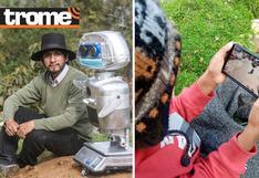 Huancavelica: Profesor creador de la robot 'Kipi' elabora videojuego educativo para niños (Video)