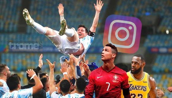 Lionel Messi superó a Cristiano Ronaldo y LeBron James (Foto: AP)