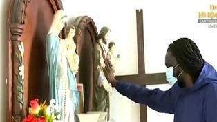 Punta Negra: Sacerdote lleva oxígeno medicinal a casa de personas contagiadas de coronavirus