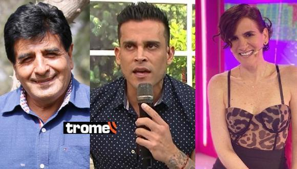 Gigi Mitre comentó la fuerte discusión que tuvo Christian Domínguez con Nivel Huarac por Pamela Franco. Foto: Instagram