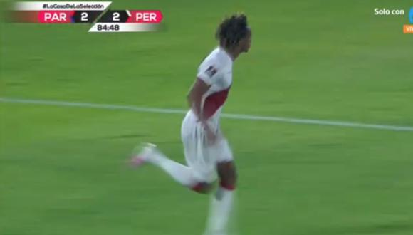 Doblete de André Carrillo en Perú vs Paraguay por Eliminatorias