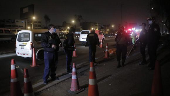 Asesinan a hombre en presunto asalto a bus en la Panamericana Sur, Foto: Joel Alonzo/@photo.gec