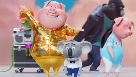 """""""Sing 2"""" presentó su primer tráiler oficial con grandes revelaciones. (Foto: Captura de YouTube)"""