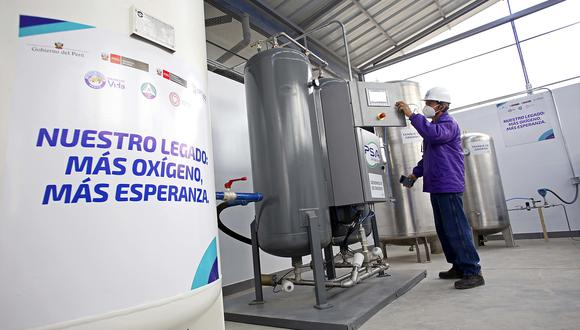 Legado entrega planta de oxígeno medicinal para hospital de Oxapampa. (Foto: Difusión)