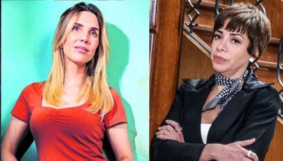 Tatiana Astengo tampoco estuvo de acuerdo con la entrevista al vocero de Con mis hijos no te metas. (Fotos: GEC/ Instagram)