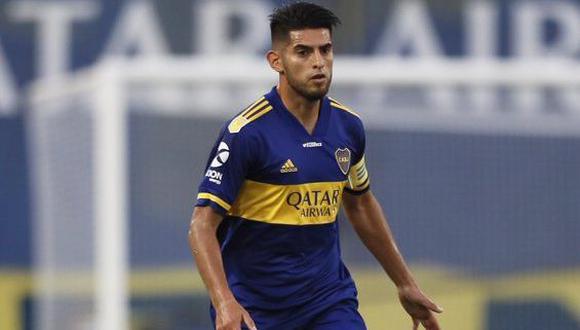 Zambrano venía de ser suplente con el 'Xeneize' por Copa Libertadores. (Foto: Boca Juniors)