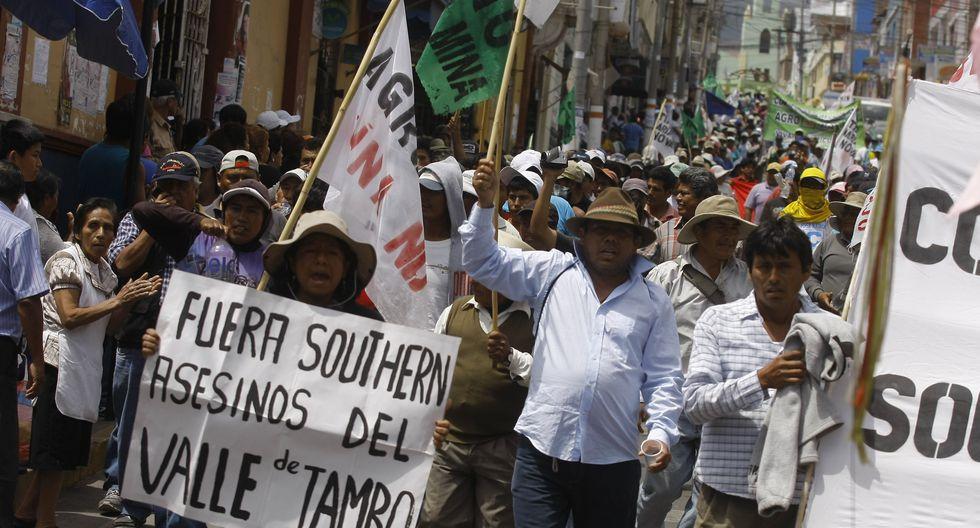 Gobierno suspende indefinidamente licencia al proyecto minero Tía María