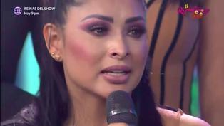 """Pamela Franco llora durante entrevista con la Chola Chabuca: """"Todo lo que hago es por mi hija"""""""