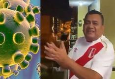 Tony Rosado se pone bravo en medio 'de pelea' contra el coronavirus | VIDEO