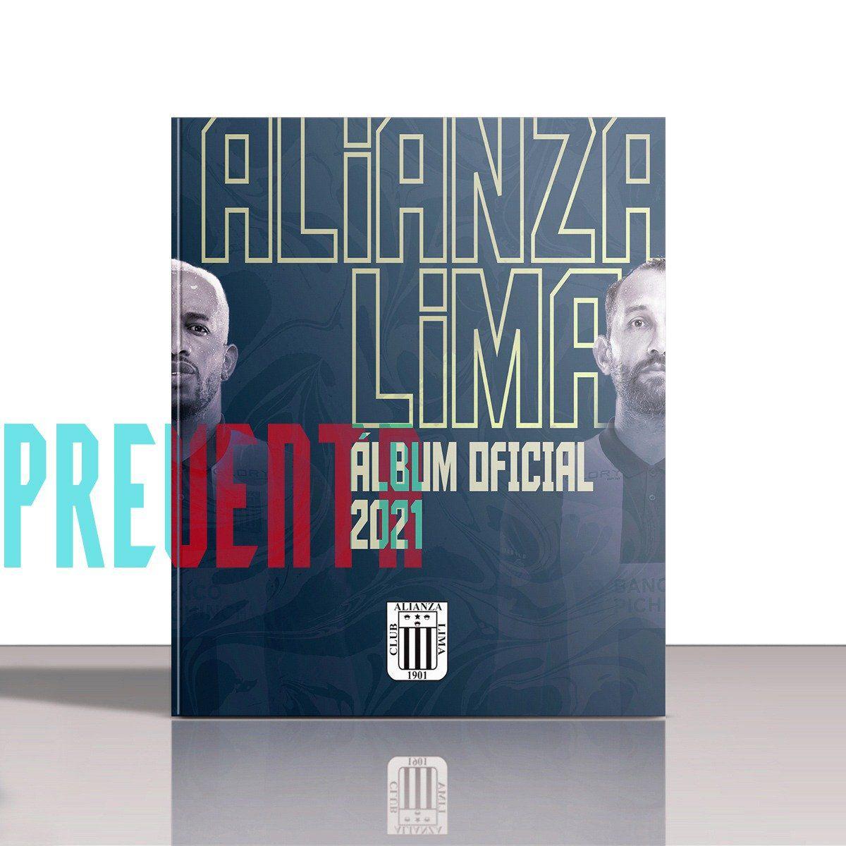 Así luce por dentro el nuevo álbum de Alianza Lima.