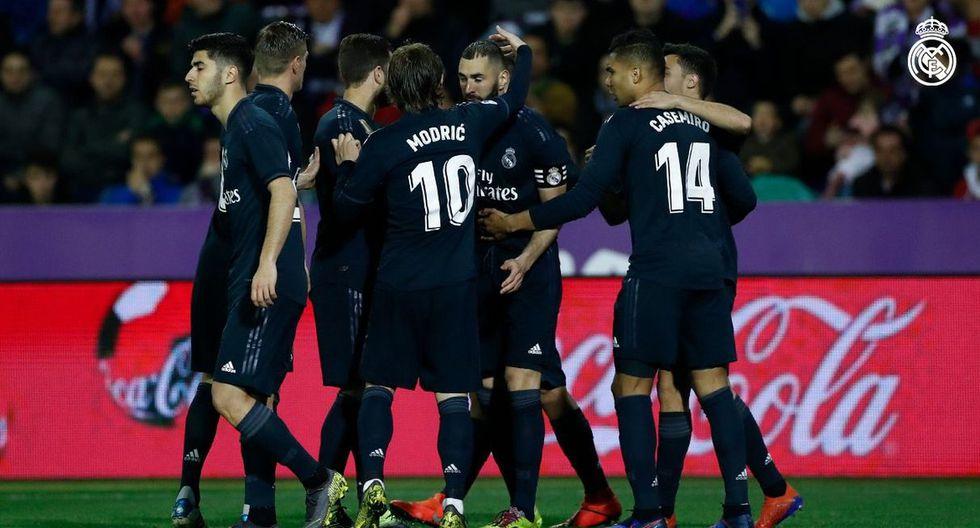 Golazos y Doblete de Benzema en el Real Madrid vs Real Valladolid por la Liga Santander
