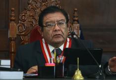 Presidente del JNE rechazó el pago de una supuesta deuda con Martín Vizcarra con una resolución a su favor
