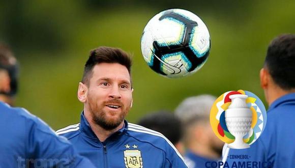 Argentina: fixture de la Copa América 2021 (Foto: EPA)