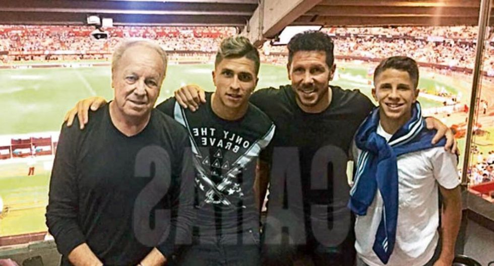 Cholo Simeone se llevó a su hijo de River Plate y lo lleva a Atlético Madrid