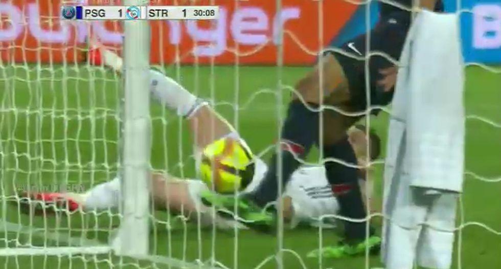 Jugador de PSG evita gol de su propio equipo en la línea y sufre vergüenza mundial ¡No Top Ten!