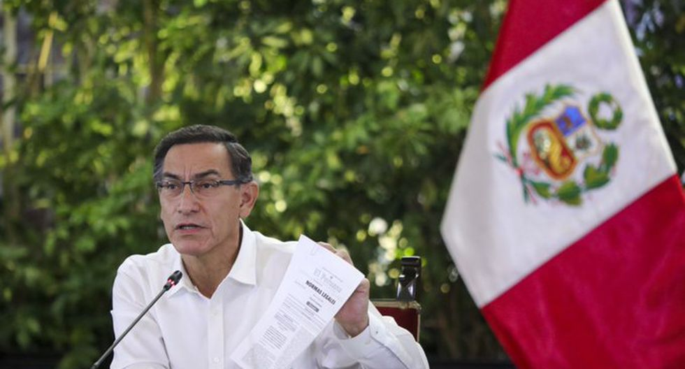 Martín Vizcarra brindará alcances respecto a las nuevas restricciones dispuestas en el marco del estado de emergencia para frenar el coronavirus en el Perú. (Foto: Andina)