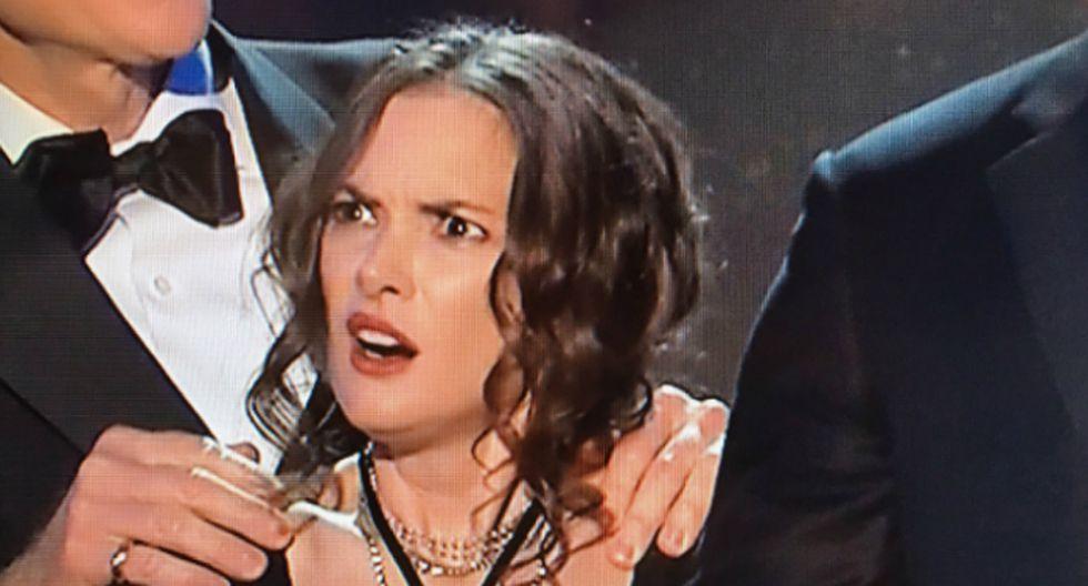 Winona Ryder en los SAG Awards.