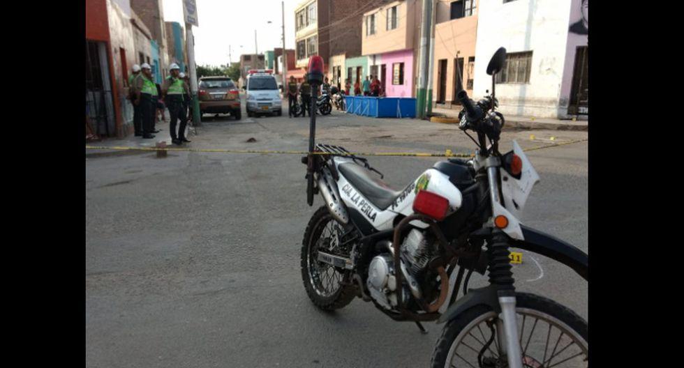Balacera dejó 3 heridos y una persona fallecida en La Perla. (Fotos: Joseph Ángeles)