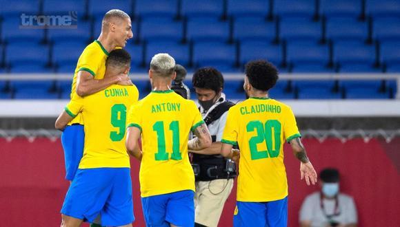 Brasil y Alemania debutaron en Tokio 2020 (Foto: @CBF)